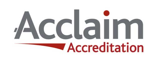acclaim accredited