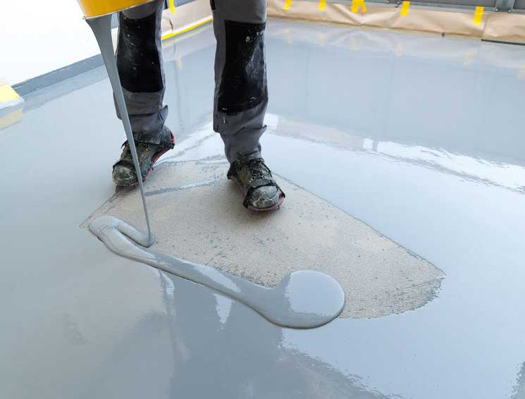 resin floor waterproofing